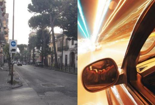 """Afragola. Auto e moto a folle velocità sul Corso Garibaldi. I residenti: """"Qui ci scappa il morto"""""""