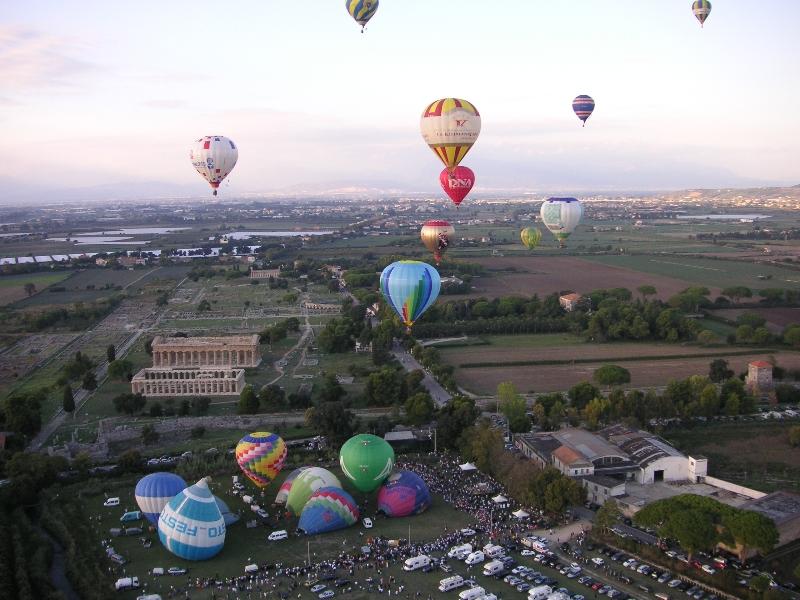 Festival delle Mongolfiere 2018 a Paestum: l'appuntamento è dal 27 settembre