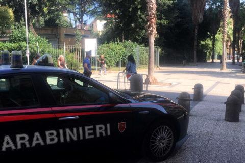 carabinieri parcheggiatore abusivo arrestato