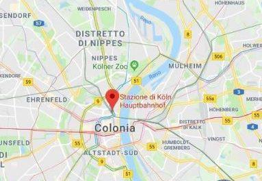 Paura a Colonia, la stazione è stata evacuata: una donna presa in ostaggio