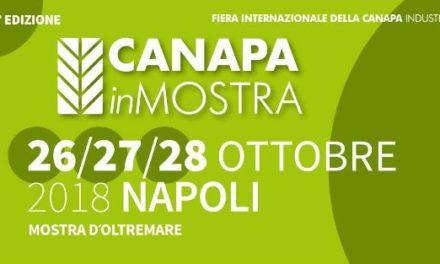 """Ritorna """"Canapa in Mostra"""" a Napoli. Dal 26 ottobre alla Mostra d'Oltremare"""