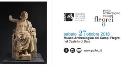 Zeus e altri capolavori, al via la mostra nel castello di Baia
