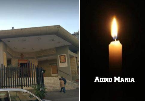 """""""Ci mancherai Maria"""". Stamattina a Casoria i funerali di Maria Ballone investita dal camion"""