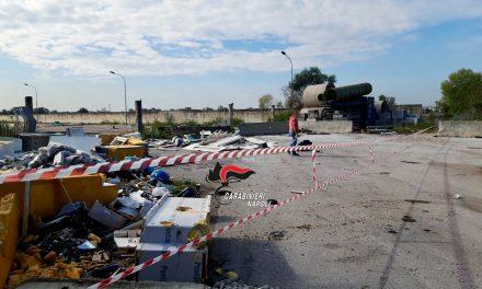 Afragola. Sversamento illecito dei rifiuti, sequestrata area di 10mila metri