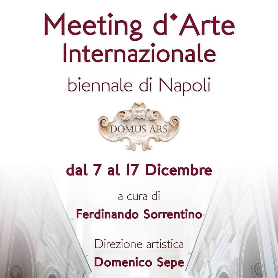 Meeting D'Arte Internazionale Biennale di Napoli. Al via dal 7 dicembre