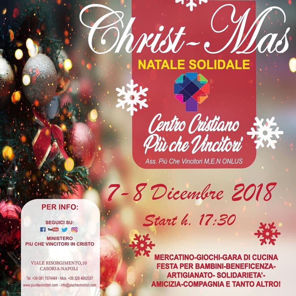 """""""Natale solidale"""" il Centro Cristiano Evangelico di Casoria in prima linea per i più piccoli"""
