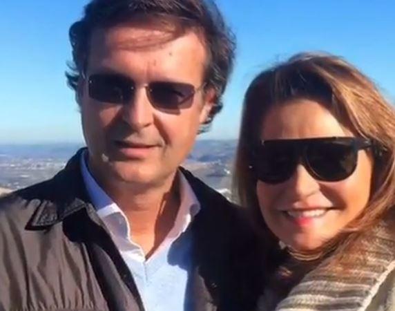 Simona Ventura e Gerò Carraro si dicono addio: il video su Instagram