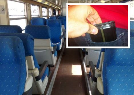 Furti ai passeggeri sul treno Napoli – Salerno: i carabinieri in borghese arrestano uomo