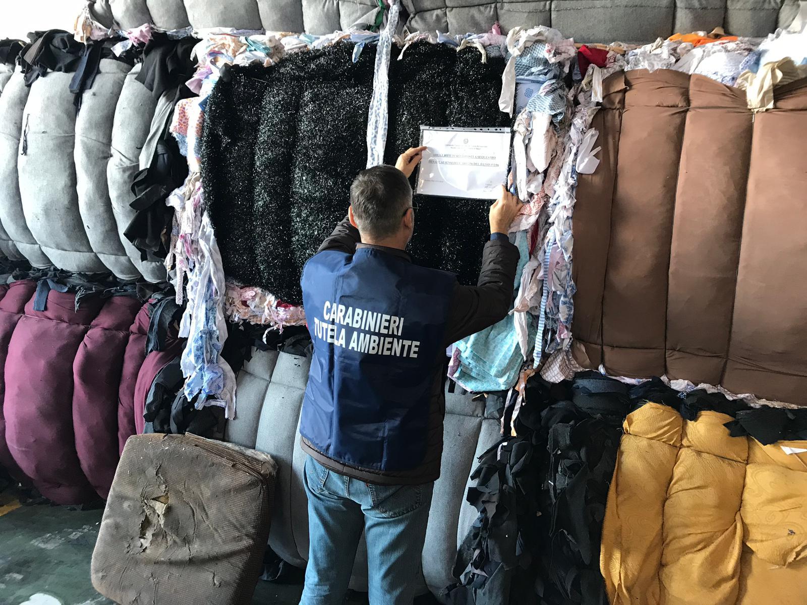 Saviano. I carabinieri controllano una ditta di stoccaggio rifiuti: denunciato amministratore