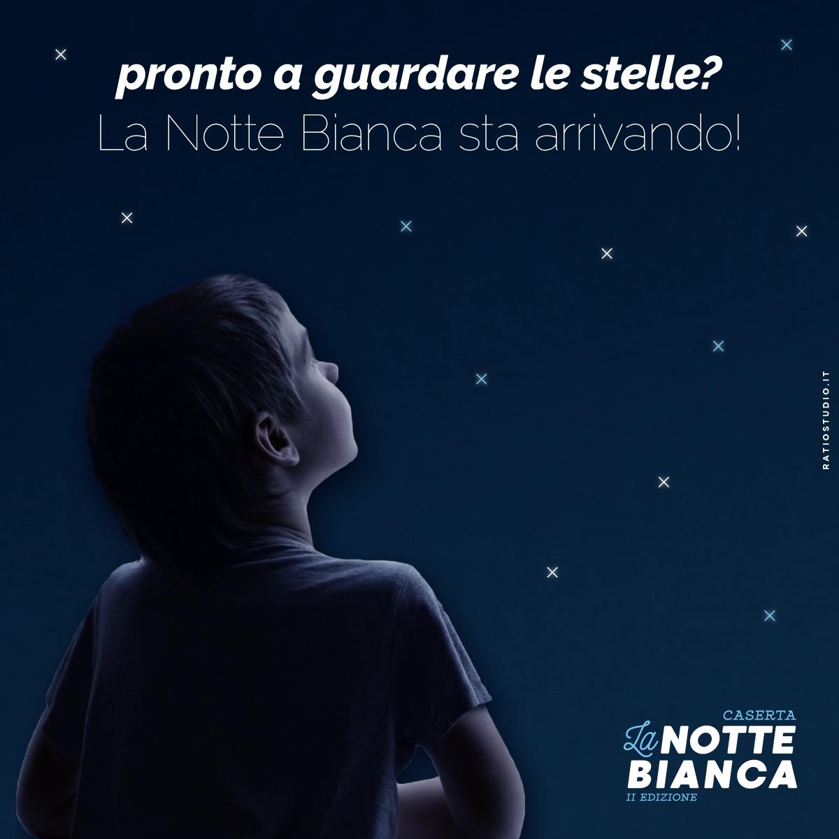 Torna la Notte Bianca a Caserta: sabato 8 dicembre presso le piazze principali della città