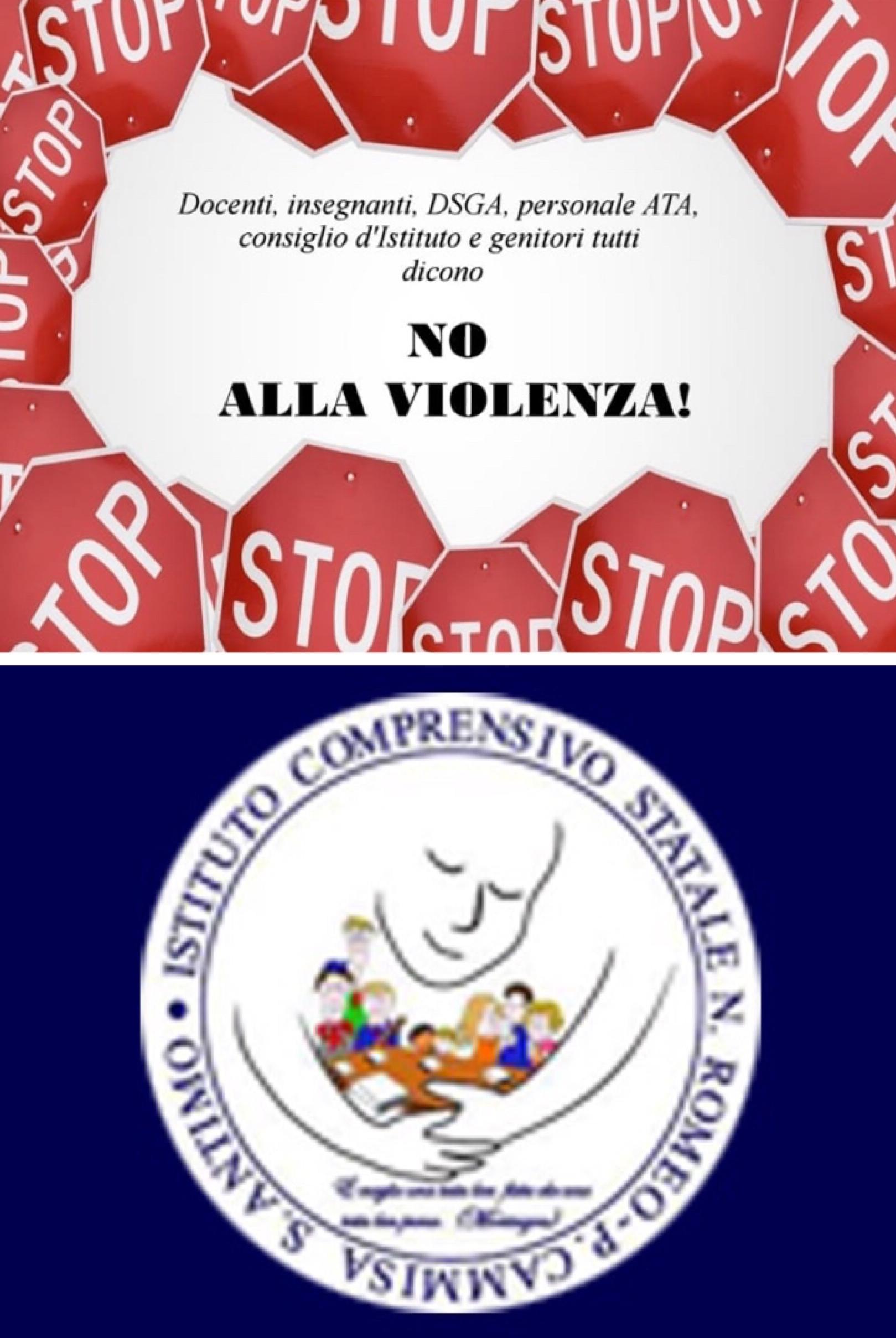 """Dopo l'aggressione dei giorni scorsi L'I.C. Romeo – Cammisa di Sant'Antimo dice """"No alla violenza"""""""