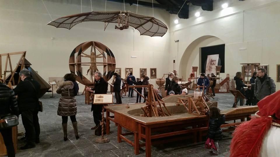A Napoli sbarca la bellissima mostra sulla vita e le opere di Leonardo da Vinci