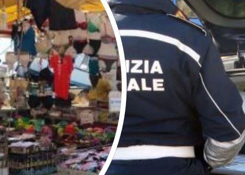 Abusivi nel mercato di Casoria: controlli della polizia municipale