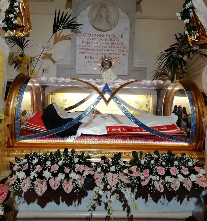 Santa Maria Cristina Brando: una vita in Adorazione dell'Eucarestia