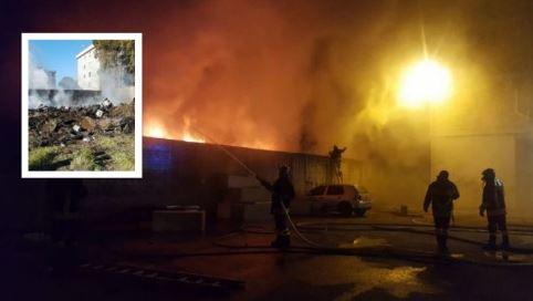 Afragola, in fiamme grossa discarica di rifiuti: cittadini preoccupati