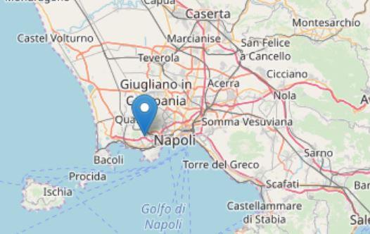 Scossa di terremoto a Quarto, avvertita anche a Napoli: paura tra i residenti