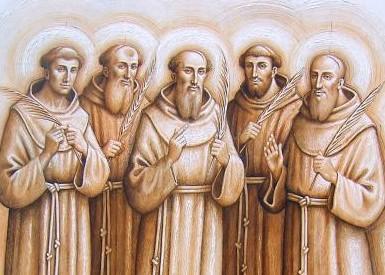 Berardo, Otone, Pietro, Accursio e Adiuto: la storia dei cinque protomartiri francescani