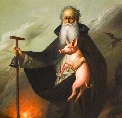 Sulla scia della santità:  Antonio abate esempio per Antonio di Padova