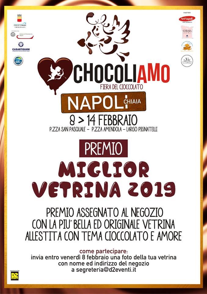 """Per la festa degli innamorati arriva a Napoli la fiera """"Chocoliamo"""""""