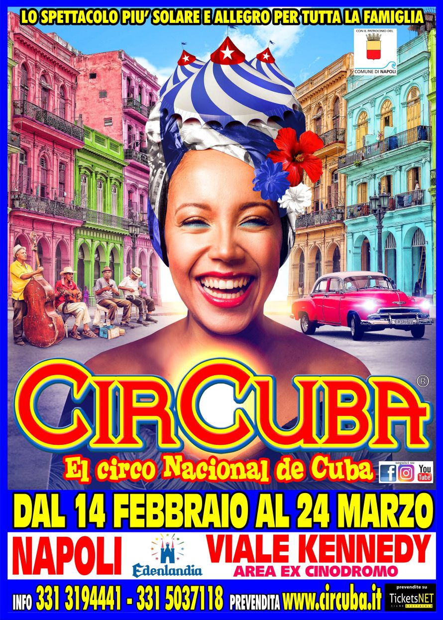 CirCuba, el circo nacional de cuba: dal 14 febbraio a Napoli