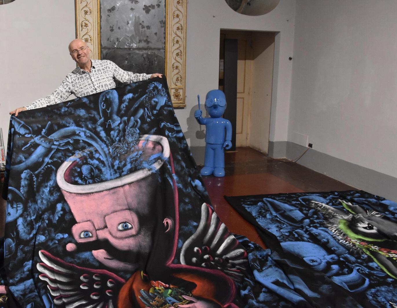 Moya Royal Transmedia, la mostra dell'artista francese Patrick Moya alla Reggia di Caserta