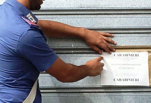 Lavoro nero e mancanza di sicurezza: i carabinieri scoprono e sequestrano fabbrica a Sant'Antimo