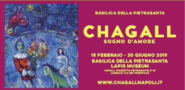 Per la prima volta a Napoli la mostra dedicata a Chagall: 150 opere tra stupore e meraviglia