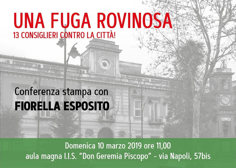 Arzano. L'ex sindaco Fiorella Esposito domenica 10 marzo incontra la città