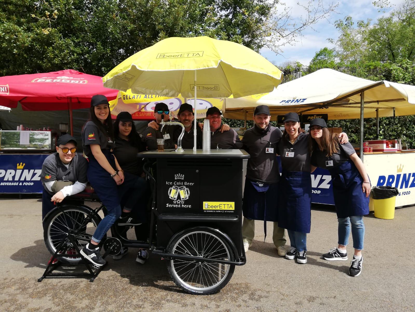 """""""BeerETTA"""", la birra si spilla pedalando: nuovo veicolo per chi ama la birra"""