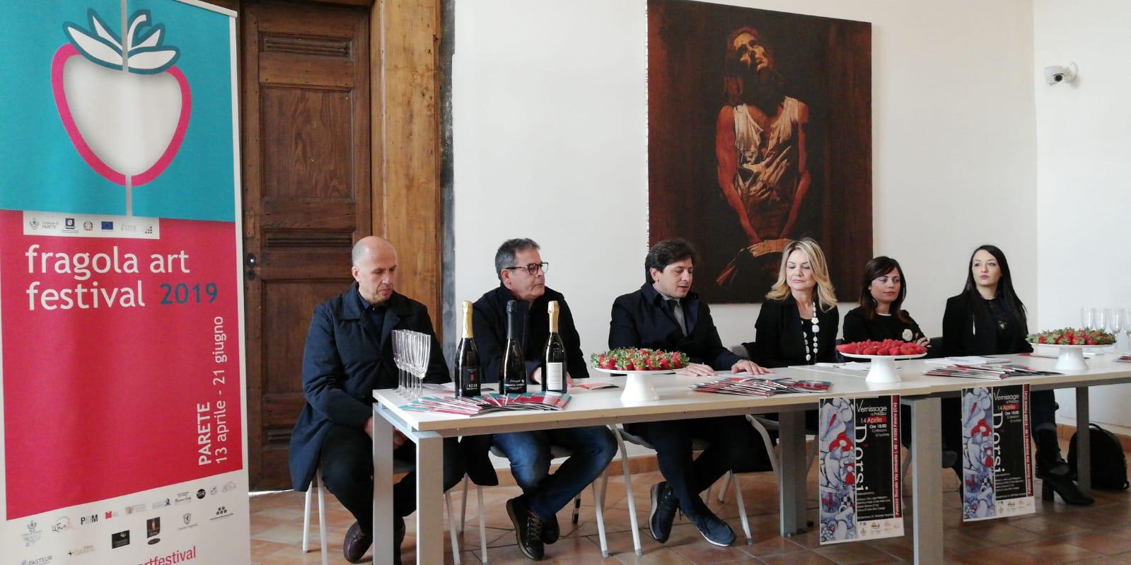 Fragola Art Festival a Parete fino al 30 giugno