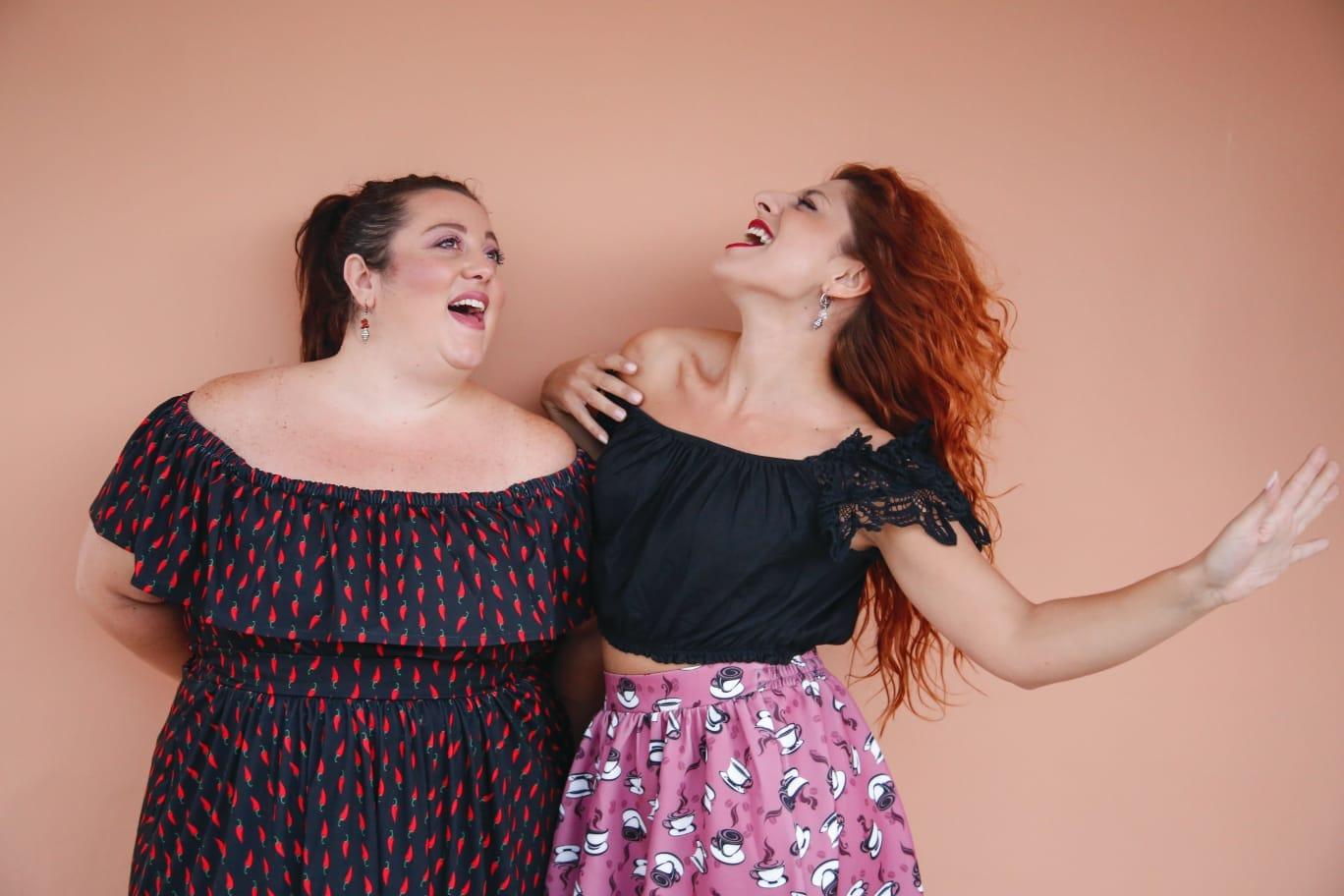Domenica 7 aprile alNostos Teatrova in scena il duo deirecordViviana&Serena