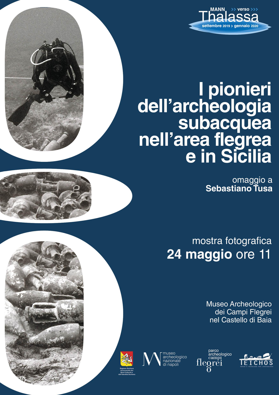 """Inaugura il 24 maggio a Baia la mostra fotografica """"I pionieri dell'archeologia subacquea nell'area Flegrea ed in Sicilia"""""""