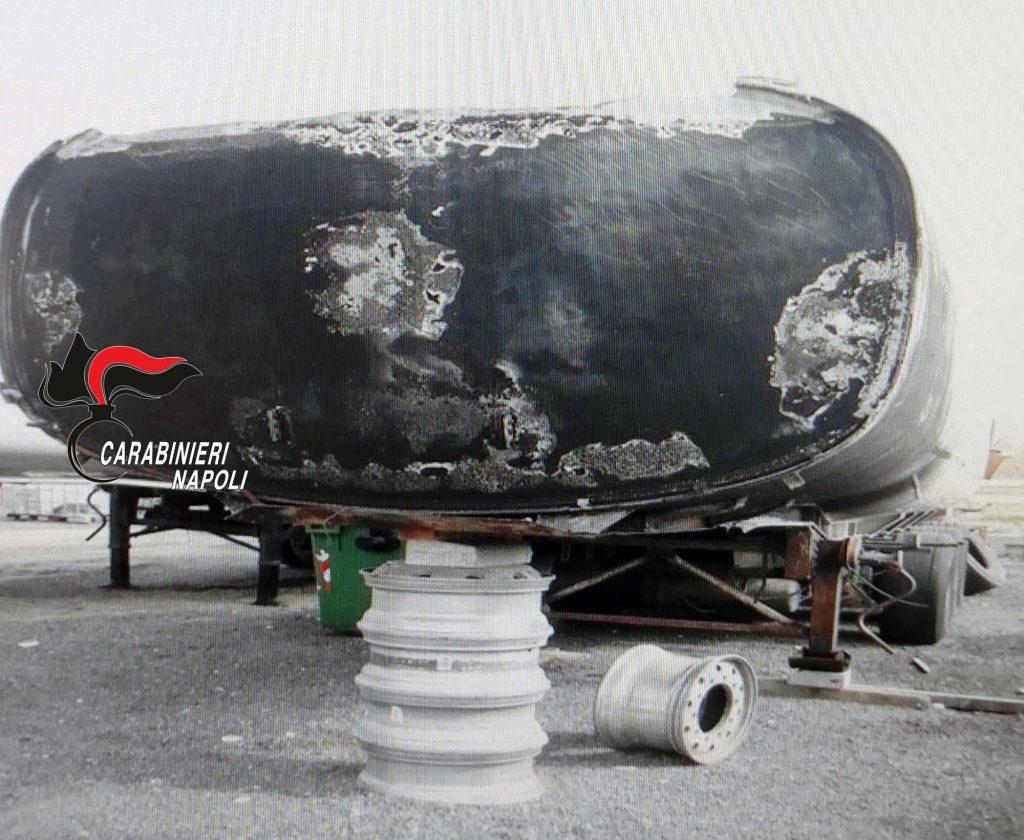 Scisciano, scoperta dai carabinieri un'azienda di carburanti senza registro rifiuti