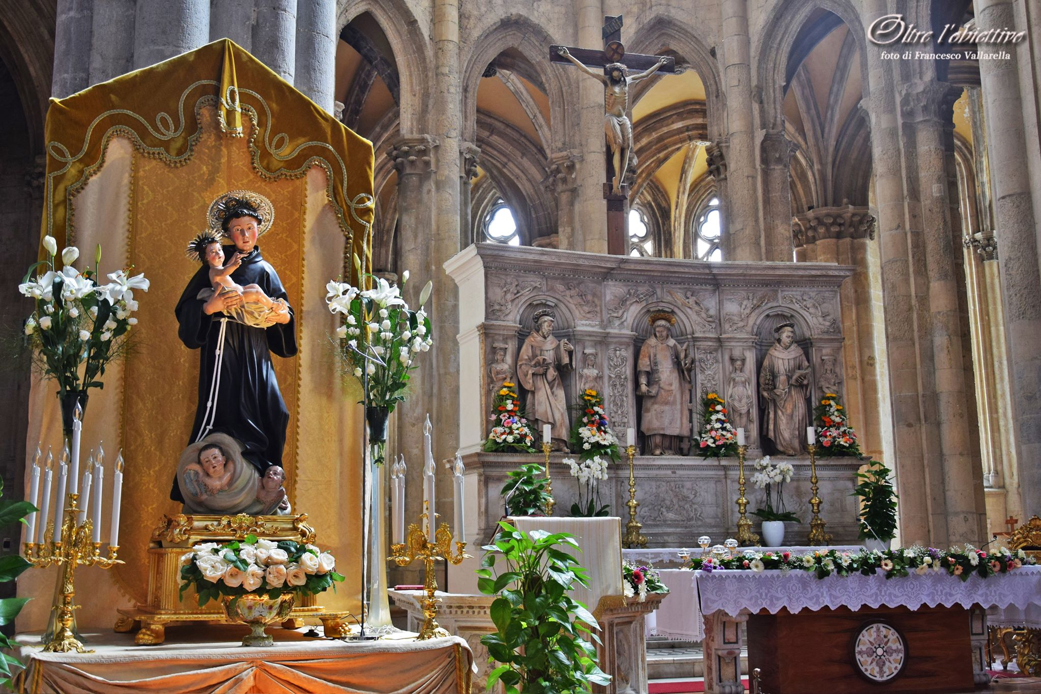 Napoli festeggia Sant'Antonio: gli eventi nella Basilica di San Lorenzo