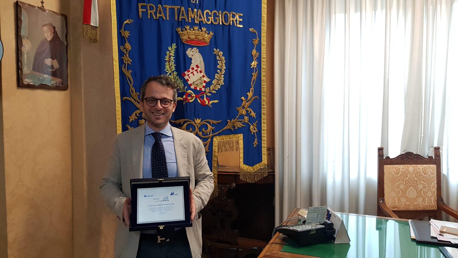 La città di Frattamaggiore conquista il premio trasparENTE