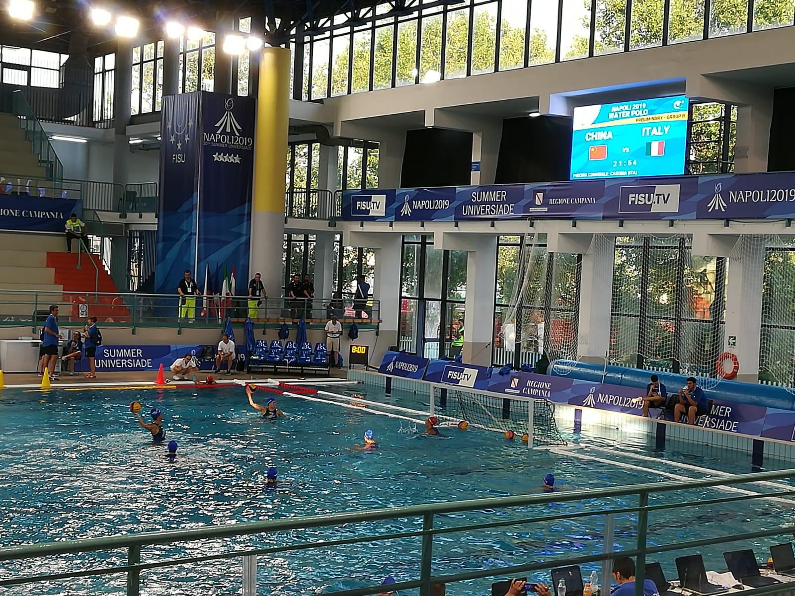 Pallanuoto femminile. Cina – Italia 10 a 11, partita al cardiopalma. Tifosi in delirio a Casoria
