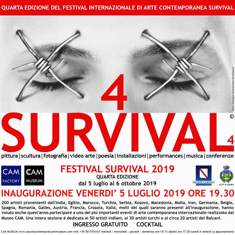 """Festival """"Survival 2019"""" a Casoria: oltre 200 artisti internazionali"""
