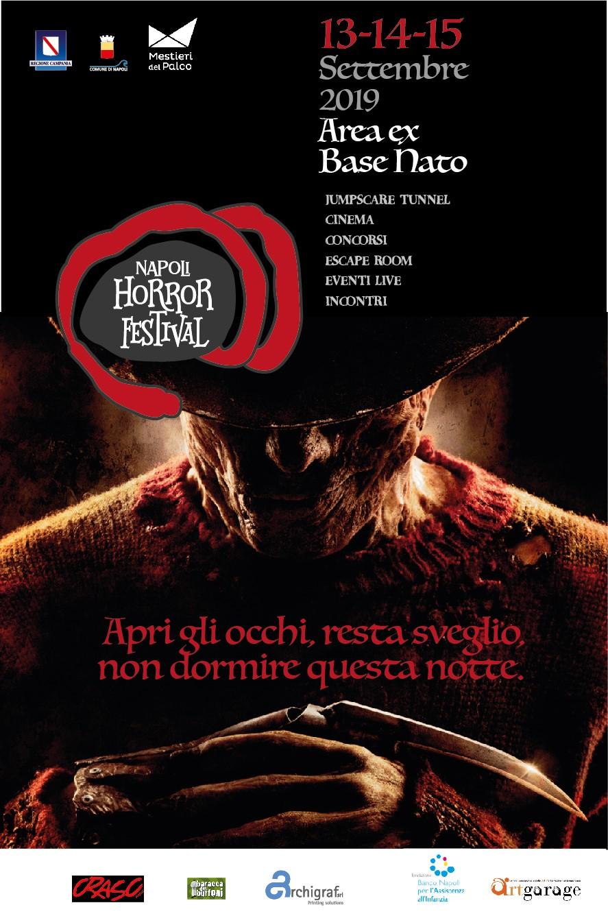 Concorso della prima edizione Napoli Horror Festival: come iscriversi