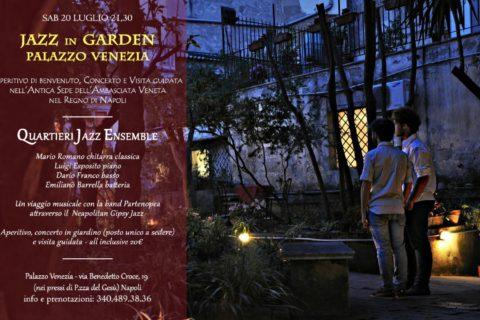 jazz in garden