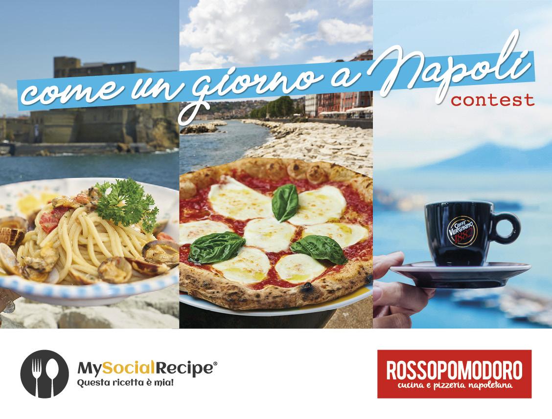 """Al via la seconda edizione del contest internazionale  Rossopomodoro Award """"Come un giorno a Napoli"""""""