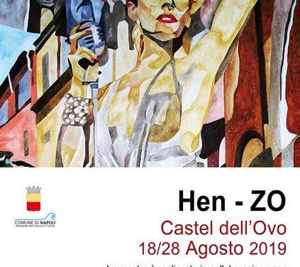 A Castel dell'Ovo la mostra di Enzo De Simone in arte Hen-Zo