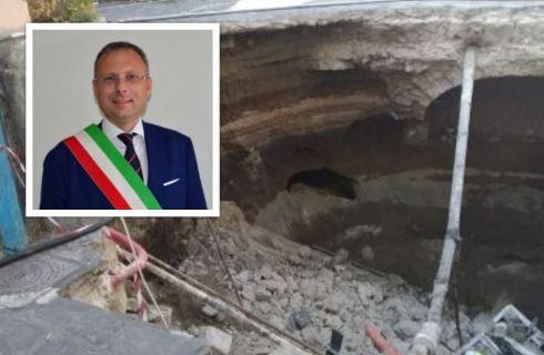 """Iniziati i lavori a Largo San Mauro. Il sindaco Bene: """"Monitoriamo anche altre aree del centro storico"""""""