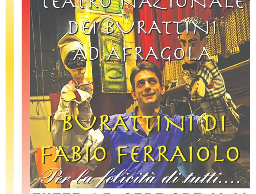Il teatro nazionale dei burattini fa tappa ad Afragola: una grande festa per tutti i bambini