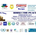 """Margherita Candia una vita per la Pace"" al premio Books for Peace 2019"