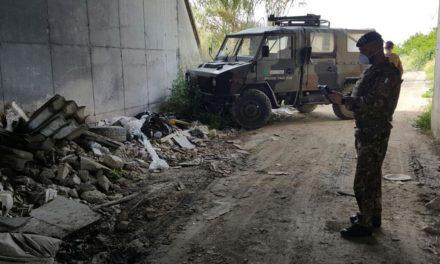 Terra dei Fuochi: operazione dei militari, sequestrate aree con depositi abusivi di rifiuti