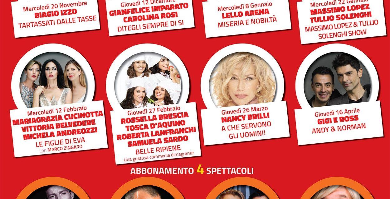 Conferenza stampa Teatro Italia Acerra, al Castello dei Conti presentazione della stagione  teatrale 2019-2020