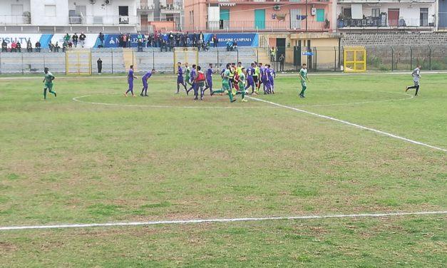 Casoria- Afro Napoli United: vince il maltempo. Sospesa la partita