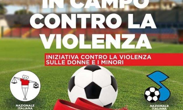 Il cuore in campo contro la violenza: partita di calcio a Frattamaggiore tra Nazionale Italiana Magistrati contro cantanti