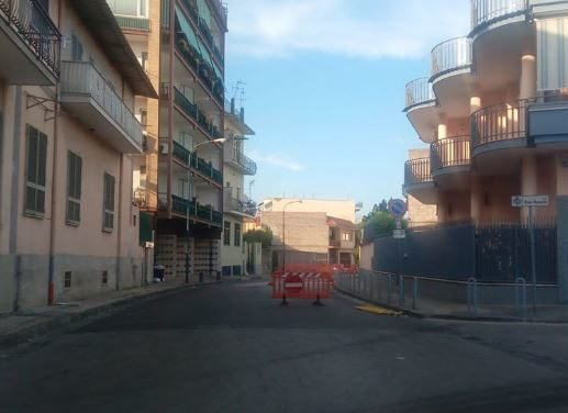 Casoria. Via Nazario Sauro a rischio cedimento? Nuove crepe lungo il tratto stradale