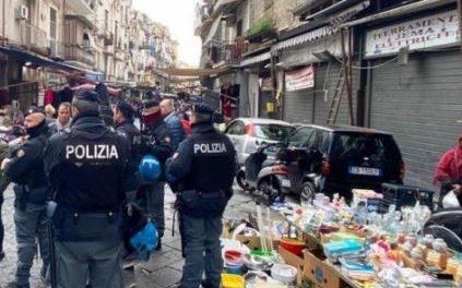 Napoli. Operazione Alto Impatto nel borgo Sant'Antonio: sanzioni e sequestri